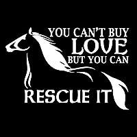 ARGYJAE 15.9cm * 10.5cmあなたは愛を買うことができない.漫画の車のステッカー馬デカールビニールS4-0789 (Color Name : Silver)