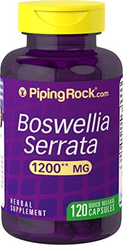 Boswellia Serrata 1,200 mg 120 Capsules