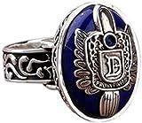 YUT Men's Rings for Him Vampire Diaries Salvatore Damon Stefan Finger Family Crest Ring