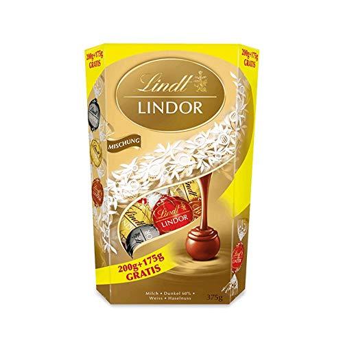 Lindt Lindor Schokoladenkugeln, Mischung, 175 Jahre Jubiläumsedition mit 175 g gratis