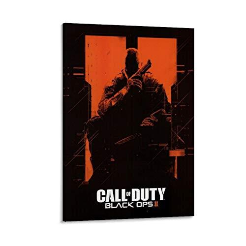 XIAOTT Póster de videojuegos de Call of Duty Black Ops 7 sobre lienzo y arte de pared, impresión moderna, para decoración de dormitorio familiar, 60 x 90 cm
