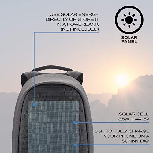 XD Design Bobby Tech Mochila Antirrobo Cargador Solar...