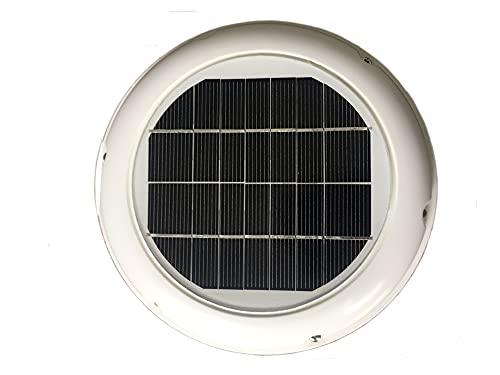YANGQI yaoqijie 2. Ventilatore Automatico della Ventola del Ventilatore del Tetto Solare 5W Usato in Forma per Il Bagno CAPANNONE Domestico CONSERVAZIONI ROULOTTE Barche Green House Lasting