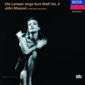 Weill: Ute Lemper sings Kurt Weill, Vol.II