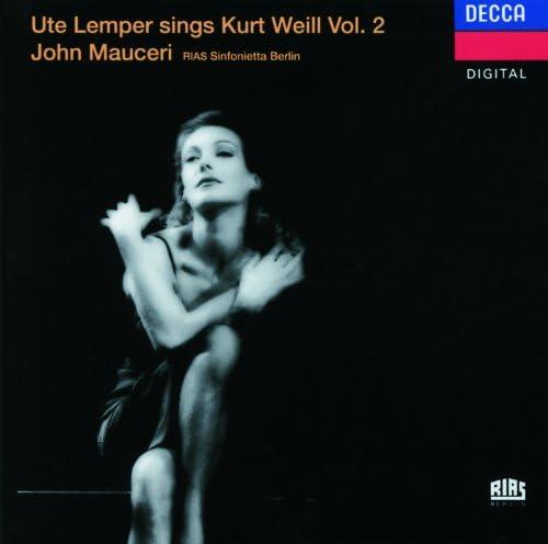 Ute Lemper, The London Voices, Jeff Cohen, Rias Sinfonietta Berlin & John Mauceri