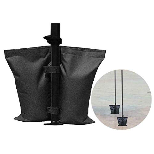 FFAN 4 Pcs Canopy Weight Bags for Pop up Canopy Tent Sand Bags for Instant Outdoor Sun Shelter Canopy Legs