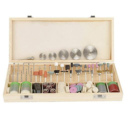 Juego de accesorios de herramientas rotativas de 242 piezas, juego de amoladora eléctrica para grabado, corte, tallado, lijado, pulido, perforación