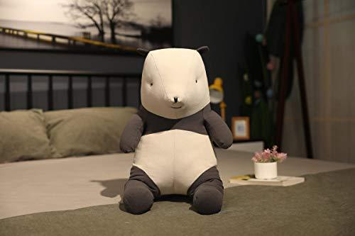 20 ~ 50cm Ins Estilo nórdico de Dibujos Animados Panda de Peluche de Juguete Almohada Lindo Relleno Suave Animal muñeca decoración del hogar 40cm Blanco
