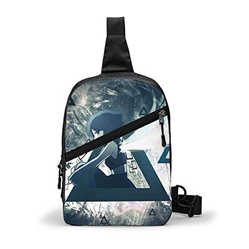 Mochila de hombro para hombres y mujeres de viaje ks pecho mochila bandolera bolsas de hombro deporte senderismo ciclismo casual ligero