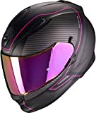Casco Scorpion EXO-510 Air Frame Matt Black-Pink XS