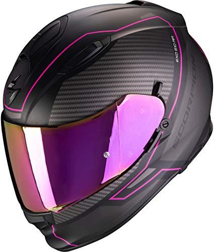 SCORPION Herren EXO-510 AIR Frame Helm, MATT Black-PINK, M