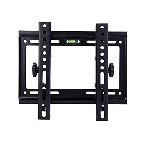 Soporte tv suelo Soporte de montaje en la pared de TV con articulación de brazos duales osos, montando para la mayoría de los televisores de pantalla de 14-42 pulgadas de pulgadas, hasta VESA 200x200m