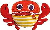 Schmidt Spiele 42639 Sorgenfresser Crabbi, 23,5 cm Plüsch, Edition AHOI, Bunt