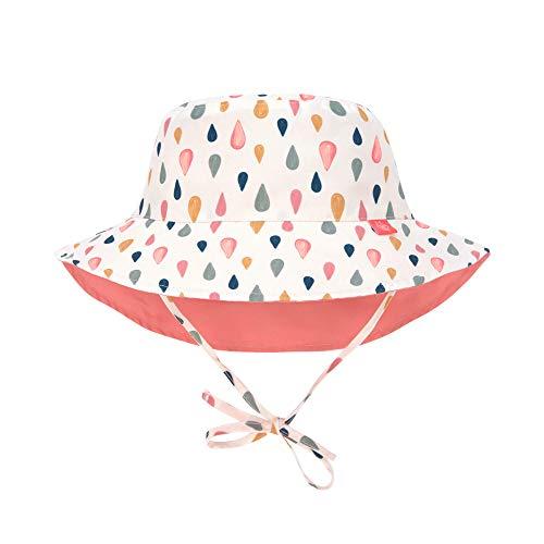 LÄSSIG Sonnenhut Kinder - Bucket Hat, Drops, 09-12 Monate