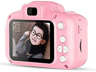 Kgint Kids Digital Camera Mini 2 Inch Screen Camera 8MP HD Digital Camera Great Gift for Girls & Boys (Pink & Blue)