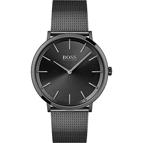 Hugo Boss Reloj Analógico para Hombre de Cuarzo con Correa en Acero Inoxidable 01513826