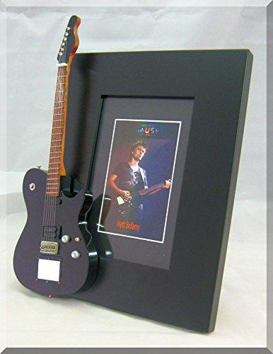 Matt Bellamy, marco de fotos para guitarra en miniatura Mason MUSE 1 CORT