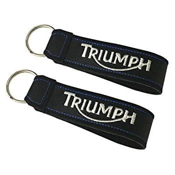 Moto Discovery Triumph /étui Porte-cl/és avec Deux Anneaux