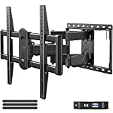 Mounting Dream Full Motion TV Wall Mount Swivel and Tilt for 42-75 Inch Flat Screen TVs, TV Mounts Bracket with...