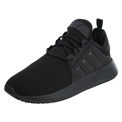 adidas Originals X_PLR Sneaker, Black/Black/Black, 5 US Unisex Big Kid