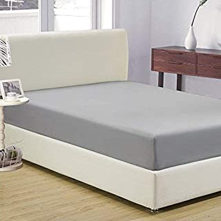 2er Luxury Fitted Sheet Fitted Sheet Bed Sheets 100/% Cotton 90-100-140-160-180-200cm