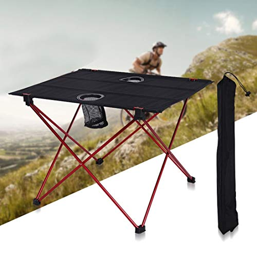 Zhouzl Productos de Camping Acampar al Aire Libre Luz de Mesa portátil...