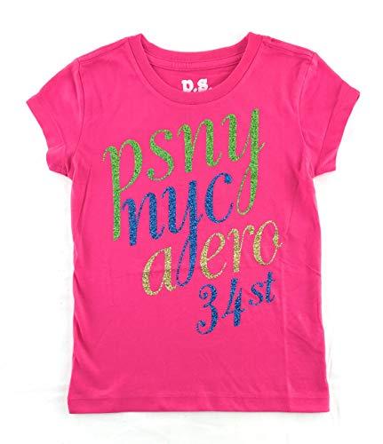 AEROPOSTALE Girls Graphic T-Shirt 7 Pink 4719