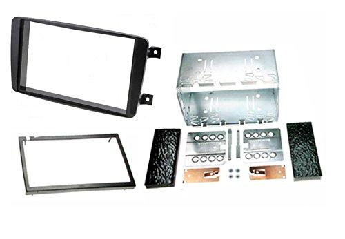 CARAV 40-108 * dubbele DIN autoradio radiopaneel met metalen frame voor Mercedes Benz C-Klasse (W203) 2000-2004, CLK-klasse (W209) 2002-2006,G-Klasse(W463)1998-2006,Vito(W639) 2003-2006, Viano(W639) 2003-2006