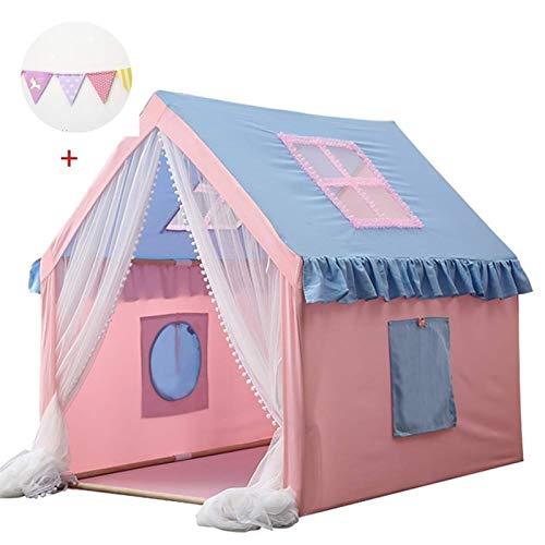 no-logo Play Carpa con Resplandor en Las Estrellas oscuras, cómodamente se pliega en A, Sus Hijos disfrutarán de Esta Tienda Plegable Pop Rink Play Tent/House Toy para Uso en Interiores y Exteriores