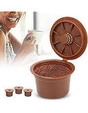 3 cápsulas de café reutilizables, cápsulas rellenables, diseño preciso, accesorios para máquina de café, ahorro de dinero y disfrutar de una mejor vida para Caffitaly