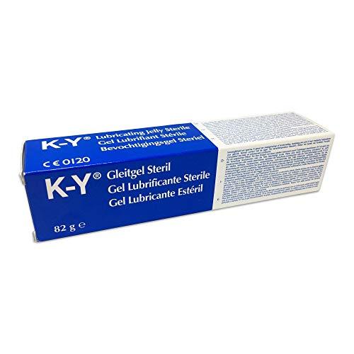 K-Y steriles Gleitgel, 6er Set, (6x82g)