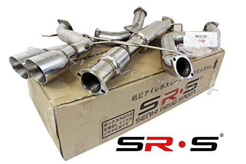 """SRS TYPE-R1 CATBACK EXHAUST SYSTEM FOR 2013-2019 FORD FOCUS ST 2.0L TURBO 3"""""""