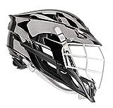 Amazon Cascade S-Youth Lacrosse Helmet Customizable-Metallic Gunmetal-Chrome Facemask