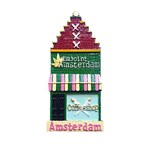 Bella 3D Magneti per FrigoriferoCalamite da Frigo in Resina Viaggio Souvenir del Modo Europa Paesi Bassi Amsterdam Fridge Magnet Sticker