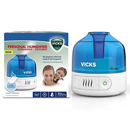 Vicks VUL505E4 Humidificateur personnel Cool Mist VICKS VUL505, 540 g