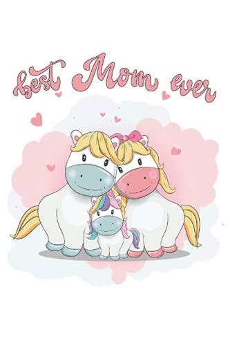 Best Mom Ever: Cuaderno o planificador como un regalo de los niños por su amor MAM porque son los mejores.