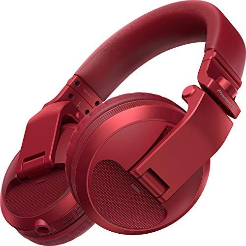 Fone de Ouvido Pioneer HDJ-X5 BLUETOOTH Red - Vermelho Metálico