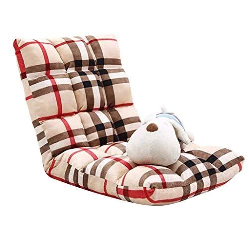 N/Z Living Equipment Floor Pliant Gaming Sofa Chair Lounger Pliant Canapé-lit réglable