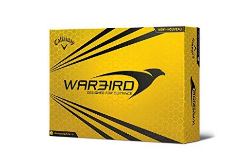 Callaway Warbird Golf Balls, Prior Generation, (One Dozen), Yellow