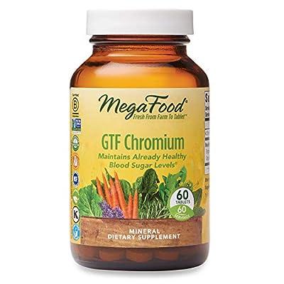 MegaFood GTF Chromium 100 mcg Tablets