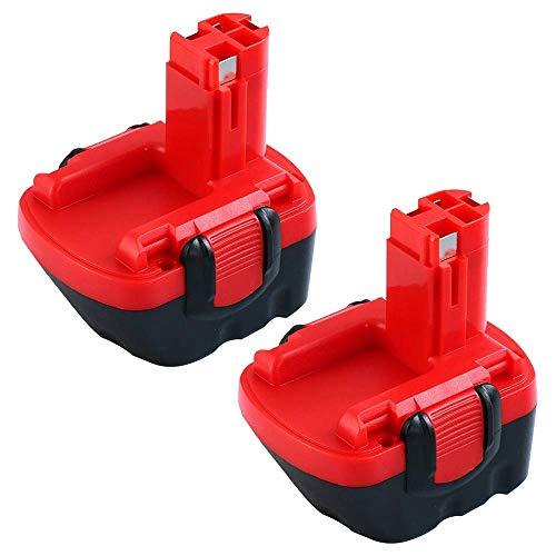 2 Stück BAT043 3.0Ah Ni-MH Ersatzakku für Bosch 12V Akku BAT045 BAT046 BAT049 BAT120 BAT139 Schnurloses Elektrowerkzeug