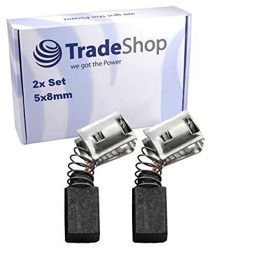 2x Kohlebürsten für Hilti TE 1, TE 5, TE 10, TM 8 Elektro-Werkzeuge ersetzt 75561/1 7556 75561 / 5x8x12mm Motorkohlen zum Austausch