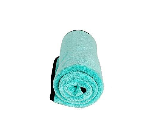 ASC Turquoise microvezel Ultra auto drogen TOWEL zeer absorberend grote 72cm x 50cm **Turquoise handdoek**