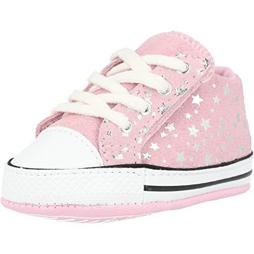 Converse Baby-Mädchen Chuck Taylor All Star Sneaker, Pink Glaze, 19 EU