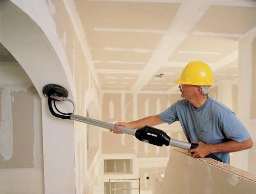reduce dust when sanding drywall