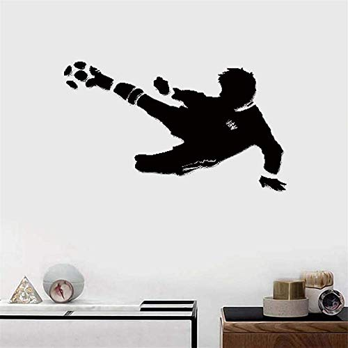 adesivo murale 3d calcio Sport Fan FIFA Soccer Ball Boys Room
