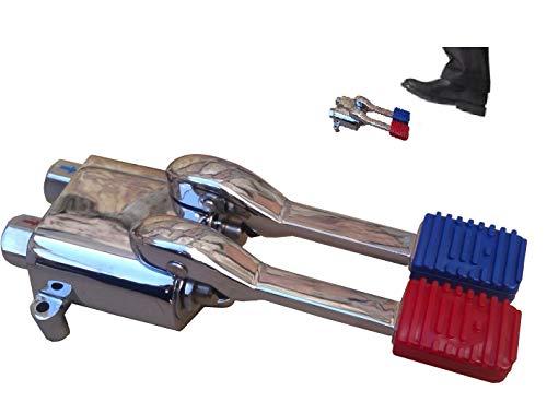 Pedales mezcladores para grifo agua fria/caliente hosteleria