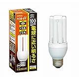 HITACHI ナイスボールV 電球形蛍光ランプ 電球100Wタイプ 3波長形電球色 EFD25EL/21B