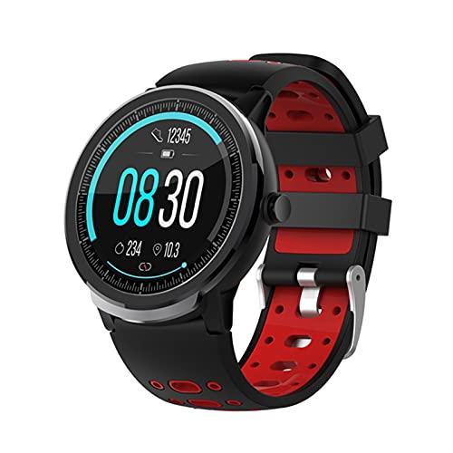 KKZ S10PRO Smart Watch Bluetooth 4.0 Tasa del corazón y monitoreo de la presión Arterial IP67 Modo Impermeable Modo Multi-Deportes Pulsera Inteligente,B