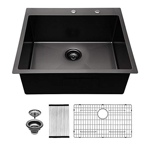 Drop In Kitchen Sink - Sarlai 25x22 Kitchen Sink Drop In...